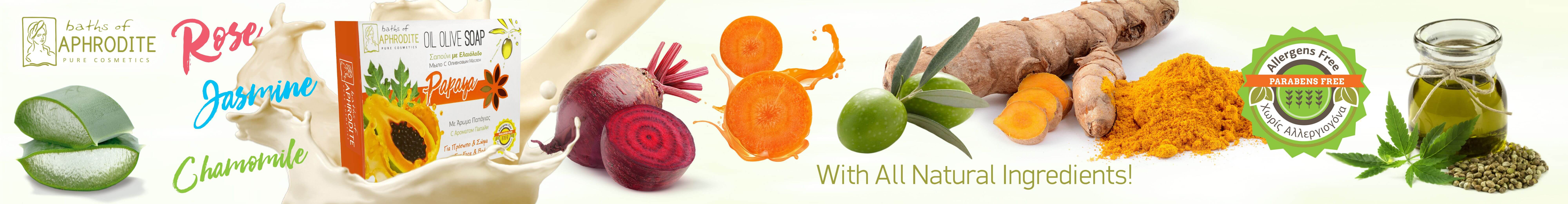 BANNER ALLERGENS FREE SOAPS